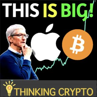 Apple To Buy Bitcoin Following Tesla's Move? Bitcoin Will Hit $50,000 Soon!