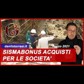 SISMABONUS ACQUISTI 110% per aziende e imprese - anche con Ecobonus