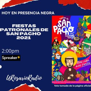 Fiestas patronales San Pacho 2021