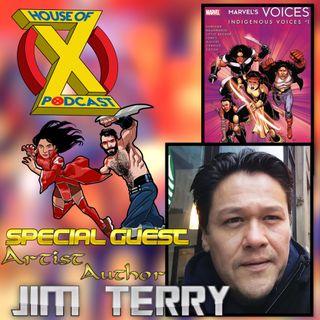 Episode 25 - Interview w/ Artist-Writer Jim Terry