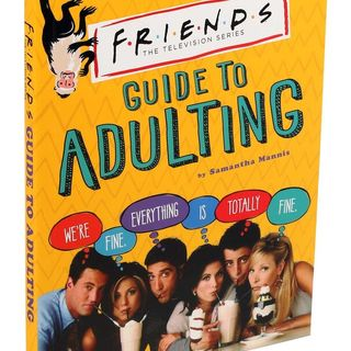 Author Samantha Mannis talks FRIENDS GUIDE TO ADULTING on #ConversationsLIVE ~ #tvshow #friendship #adulting #cooking @sam_mayonnaise