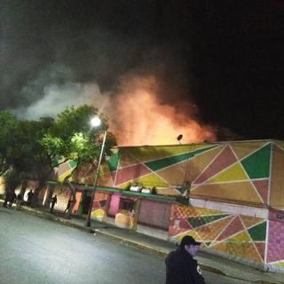 Se incendia otro mercado en CDMX