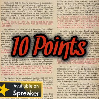 10 Points: An Examination of a Plan