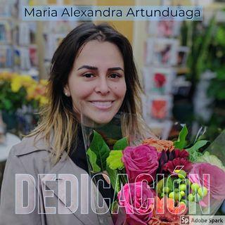Maria Alexandra Artunduaga, ejemplo de dedicación y compromiso.