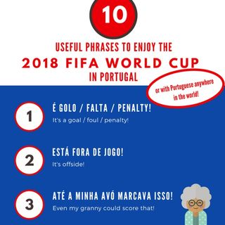 Catia Lima's Beyond Lisbon Language Guide to The World Cup: 10 Useful Phrases