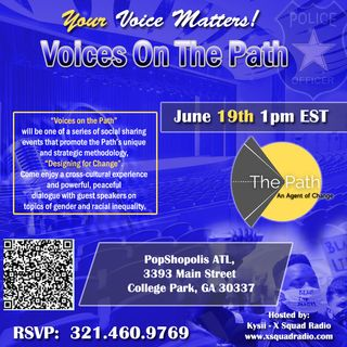 Kickin' It With Quinn Johnson of The Path: An Agent of Change, Inc.