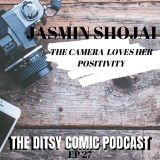 Jasmine Shojai The Camera Loves Her Positivity