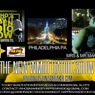 WMIH Radio Making It Happen WED Live