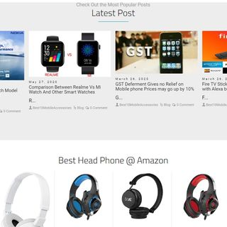 Homepage - Best 10 Mobile Accessorie