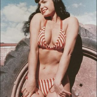 Betty Page Loves Her iHeartRadio Listeners! Wow!