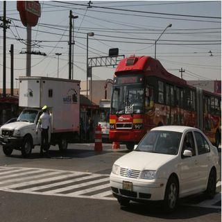 Sin servicio estación CCH Ote del Metrobús