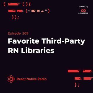 RNR 209 - Favorite Third-Party RN Libraries