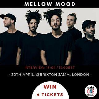 Mellow Mood in diretta con noi,per il concerto di Londra il 20 aprile  a seguire Young Music Talent