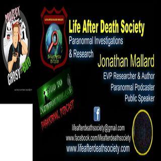 JONATHAN MALLARD LIFE AFTER DEATH SOCIETY