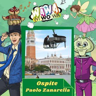 La Musica di Paolo Zanarella, Il pianista fuori posto