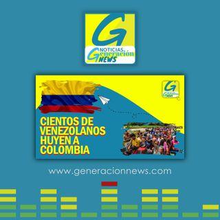 722: CIENTOS DE VENEZOLANOS HUYEN HACIA COLOMBIA