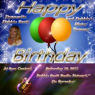 BIRTHDAY BASH FOR DYNAMITE, SISTER TAMMY !!  1-19-19