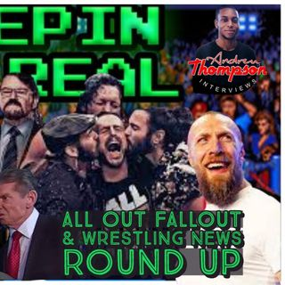 All Out Fallout | Fire Smackdown | CM Punk 1st Match | Cole, Danielson, Lesnar | Keepin It Real