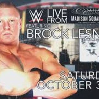 Brock Live from MSG Preview