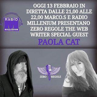Zero Regole The Web Writer ~ Ospite Paola Cat