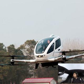 TekPulseTV ep196: El lanzamiento del Falcon Heavy de SpaceX y el Dron que transporta personas Ehang 184