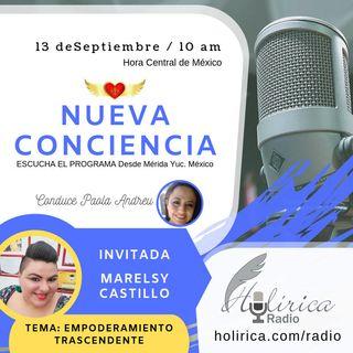 Nueva Conciencia entrevista con Marelsy Castillo