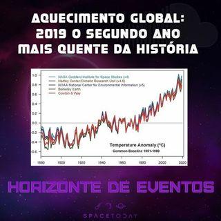 Horizonte de Eventos - Episódio 8 - 2019 - O Segundo Ano Mais Quente da História