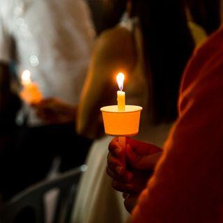 Massive Vigil Held In Orlando