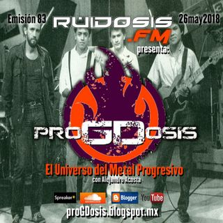 proGDosis 83 - 26may2018 - Praxis