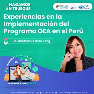 Episodio 183. Experiencias en la Implementación del Programa ÓEA en el Perú