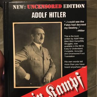 Mein Kampf. Who's going to protect us?