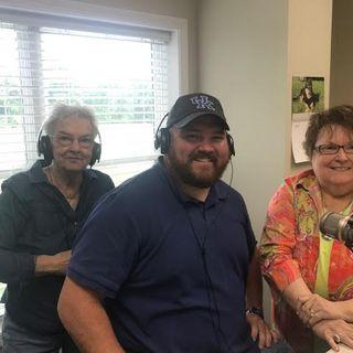 Bro.Robbie visits Susan & Carol on 99.1