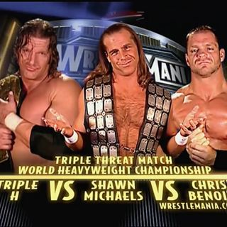 WWE Rivalries: HHH vs HBK vs Chris Benoit