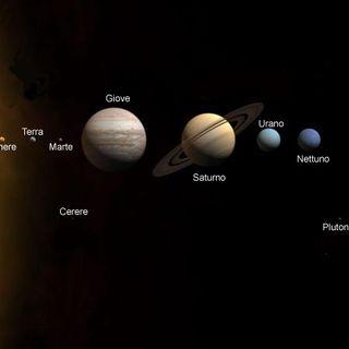 Il sistema solare in italiano