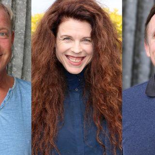 Calle Norlén, Jessica Gedin och Göran Everdahl.