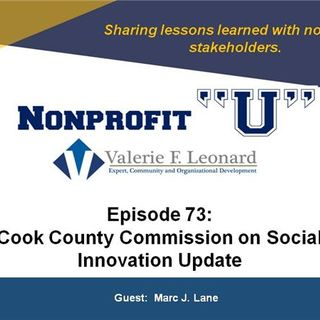Cook County Commission on Social Innovation Update