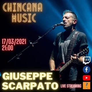 #7 Giuseppe Scarpato nel salotto virtuale di Chincana Music