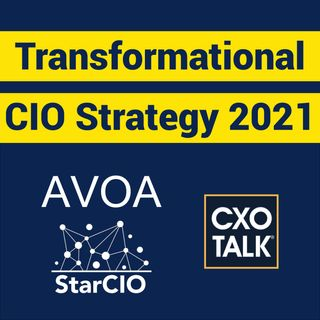 CIO Strategy and Priorities 2021 (CXOTalk #676)