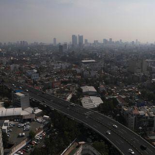 Mala calidad del aire en la alcaldía de Xochimilco