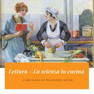 11 - Lettura - La Scienza e l'Arte in Cucina