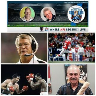 Dan Reeves, Tony Collins, Gerry Cooney, and Rocky Bleier Join Us...