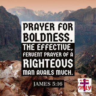 Prayer for Boldness, Book of Prayers of the New Covenant Church of the Body of Christ.