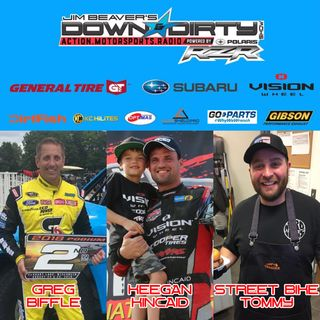 #351 – Greg Biffle, Keegan Kincaid, & Street Bike Tommy On Air!