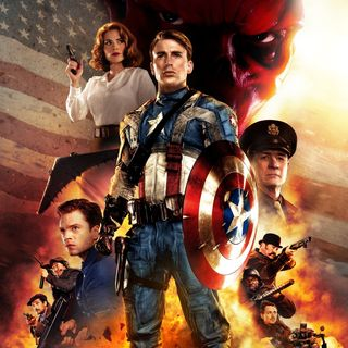 PODCAST CINEMA | critique du film CAPTAIN AMERICA FIRST AVENGER (2011) | CinéMaRadio