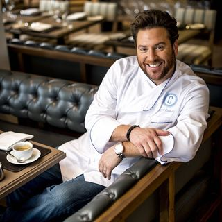Chef Scott Conant & Sunset Magazine's Andrea Minarcek