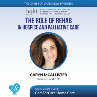 12/14/16: Caryn McAllister of High Quality Home Therapy on the Come For Care Show with Nicol Rupolo from ComForCare Stamford