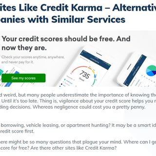 FitMyMoney - Sites Like Credit Karma