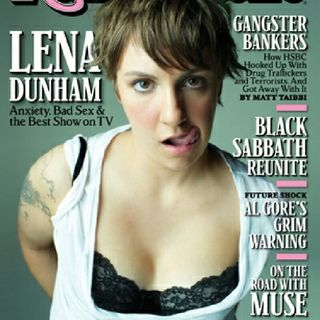 PSA: Lena Dunham, Your Cave Mother Should've Swallowed You!