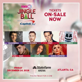A Jingle Ball 2018 quick mix (ATL) - Introduction by Alessia Cara!