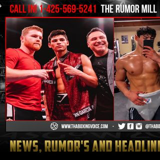 ☎️Ryan Garcia vs Avery Sparrow🔥Garcia Steps In Fills 🇲🇽Canelo Void💰